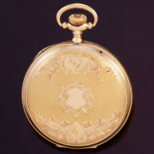 14K YELLOW GOLD HUNTER CASE ELGIN POCKET WATCH CA1904 | 15 JEWEL 16 SIZE