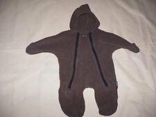 Boys Snowsuit Size 0/6 mo Duck Roast Polartec Sherpa Lined Dark Brown