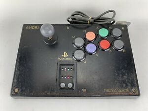 Hori Fighting Stick PS Playstation PS1 PS2 Arcade Controller