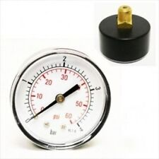 Replacement Back Pressure Gauge for Swimming Pool Water Pump Gage Sand Filter