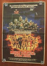 1979 Galactica THE CYLON ATTACK movie poster Spanish vintage NEW 98 x 70 cm HUGE
