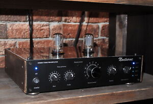 PREAMPLIFIER SUPER NOCTURNE ON OCTAL TUBES 6SN7. HAND MADE FROM RUSSIA