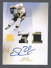 2009-10 Upper Deck The Cup Evgeni Malkin Auto Patch Honorable Numbers #54/71