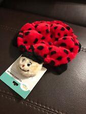 ZippyPaws Squeakie Crawler Squeaker Plush Dog Toy, Betsey The Ladybug