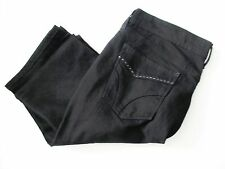 Levi's Womens 505 Mid Rise Straight Leg Jeans Black Sz 12S - NWT