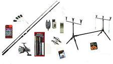 Carp master Fishing Starter Bundle - Rod Reel Alarm Rod Pod Bait Tools & Tackle