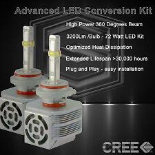 360 Degree Beam - New Gen CREE LED 6400LM Head Light Kit 6k 6000k - 9005 HB3 (B)