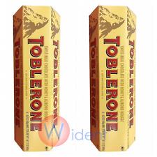 TOBLERONE Swiss Milk Chocolate Honey Almond Nougat 12 Bars