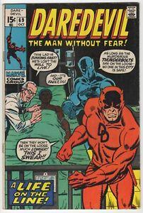 Daredevil #69  FN 6.0  Black Panther Thunderbolts  1970 Marvel