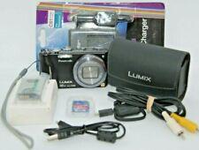 Panasonic Black LUMIX DMC-ZS10 14.1MP Digital BLACK Camera FULL HD Kit Bundle