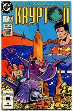 The World of Krypton 1 NM 9.2 DC Comics 1987 John Byrne Al MIgnola