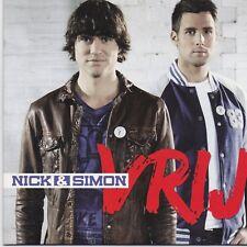Nick&simon-Vrij cd single