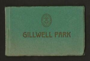 1920 's  - Boy Scout Postcard Book - GILLWELL PARK - Baden Powell - Gilwell