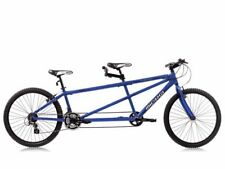 """26"""" blue tandem 2 seats bike bicycle off road 24 speed shimano built for two"""