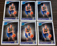 2018-19 Panini Donruss Optic Michael Porter Jr Rated Rookie 6 Base Card Lot!