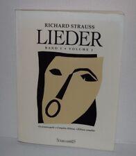 Lieder Volume 1 , 2 & 3 Voice Series by Richard Strauss softcover books