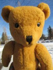 "VINTAGE 18"" DEANS CHILDSPLAY TEDDY BEAR UK TAG GREAT BRITAIN JOINTED WOOL MOHAIR"