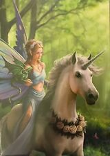 REALM OF ENCHANTMENT GREETING CARD - ANNE STOKES