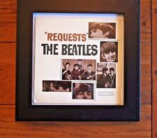 "Rare Original ""REQUESTS"" THE BEATLES 45 RPM Parlophone GEPO 70013 FRAMED"