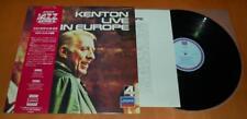 Stan Kenton - Live In Europe - 1977 Japanese Vinyl LP