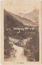 S.LUCIA D'ISONZO - FRAZIONE DI TOLMINO (SLOVENIA) 1920