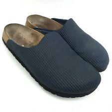 BIRKIS by Birkenstok Navy Synthetic Mule Slip On Women's Shoes Size 7/38 Narrow
