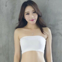 Women Strapless Breathable Seamless Stretch Invisible Bra Tube Top Underwear FD
