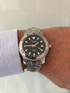 Orologio sub diver scuba vintage PHILIP WATCH AQ 2000 Automatic ETA 2824 100 Mt.