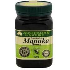 2X Bio Active 12+ 500g Manuka Honey Australian by Nature - New Zealand Manuka Ho