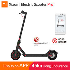 Original Xiaomi MI M365 Pro Folding Electric Scooter 45KM 25km/h 600W From USA
