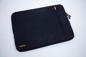 """Tomtoc Shockproof Protection Laptop Bag Apple MacBook Pro 15"""" 16"""" Blue Black"""