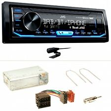 JVC KD-X451DBT DAB+ USB Einbauset für Opel Astra F G Corsa B Zafira A