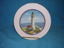 "Royal Victorian Lighthouse Salad Plate, About 8 1/2"" Bone China"