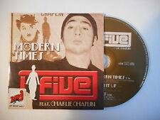 J-FIVE feat. CHARLIE CHAPLIN : MODERN TIMES [ CD SINGLE PORT GRATUIT ]