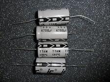 (4 PCS) 4700 uf 35v Aluminum Electrolytic Capacitor / Illinois Capacitor  TTA