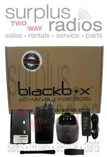 BLACKBOX  5W 16CH VHF 150-174MHZ BUSINESS RADIO RACING  COMPLETE PACKAGE