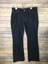 Banana Republic Size 14 NWT Bootcut Jeans Dark Wash Stretchy Limited Edition