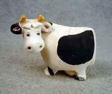 Vintage Artesania Rinconada Animal Figurine Cow