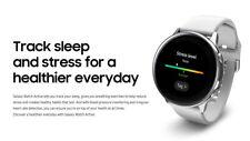 """Samsung 2019 SM-R500 Galaxy Watch Active Bluetooth 39.5mm 1.1"""" WiFi 4Gb / Silver"""
