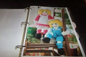 Lot 50 Vintage Crochet Patterns Dolls Clothes Antebellum Doll Shoes Christmas