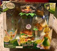 NEW DISNEY FAIRIES PIXIE DUST MAGIC ARRIVAL PLAYSET  WITH  TINKER BELL DOLL