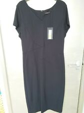 Marks And Spencer Long Navy Dress Size 16. New