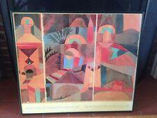 Paul Klee Temple Garden Framed Art Print, Metropolitan Museum of Art Exhibit