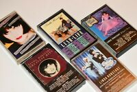 Linda Ronstadt - Cassette Lot 5 - What's New Rainstorm Hits Lush Life Reasons