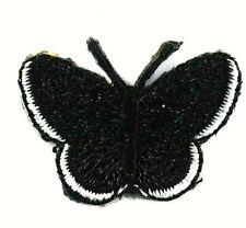 Applikation zum Aufbügeln Bügelbild 3-642 Schmetterling schwarz