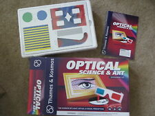 Excellent Still Sealed Thames & Kosmos Optical Science & Art experiment kit