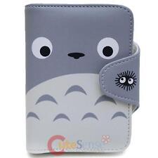 My Neighbor Totoro Wallet Anime Wallet  Grey Totoro Face Money Holder