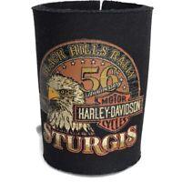 Harley Davidson Vintage Can Drink Holder Sturgis Eagle Graphic Read 56th Anniv.