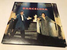 """Queen Freddie Mercury Barcelona Original 7""""ps Very Nice Condition"""