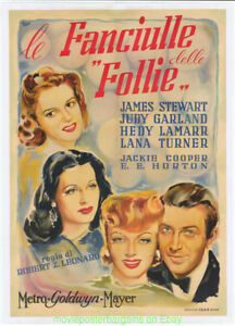 ZIEGFIELD GIRL MOVIE POSTER LB 41 ITALIAN JAMES STEWART